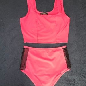 Hot Pink Rave Outfit, EDC, Festivals
